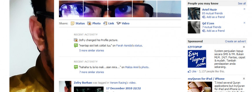 Profile Facebook